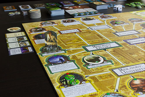 arkham horror - his player on board
