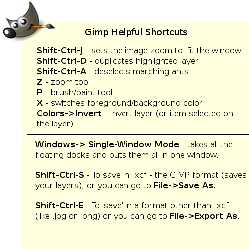 GIMP-helpful-shortcuts