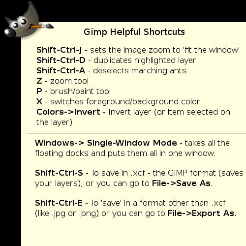 GIMP-helpful-shortcuts