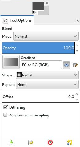 gradient-tool-options