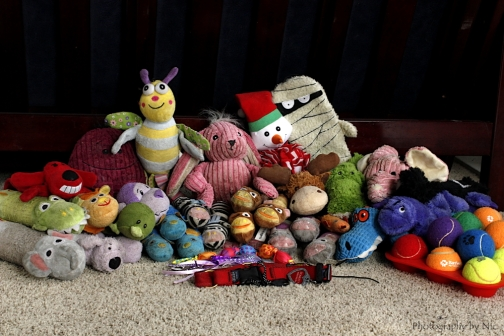 All of her toys