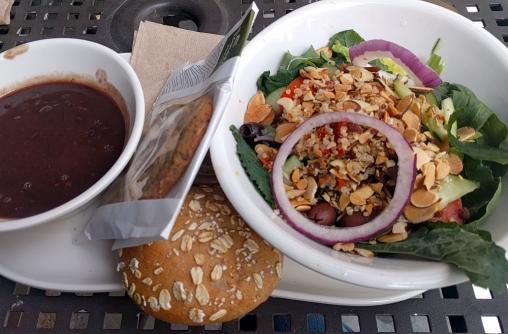 Day 4 - I need brain food, hello salad!